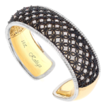 18k Yellow Gold / Black Rhodium - KGB106BK