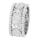 18k White Gold Eternity Band - KGBD191