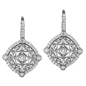 Jack Kelége diamond drop earrings KGE145