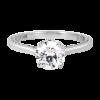 Jack Kelége diamond solitaire engagement ring - KGR1126