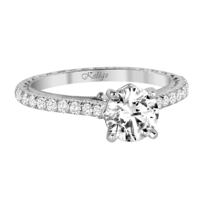 Jack Kelége diamond engagement ring - KGR1146