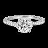 Jack Kelége diamond solitaire engagement ring - KGR1158