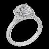Jack Kelége diamond halo engagement ring - KGR1156