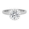 Jack Kelége diamond halo engagement ring - KGR1189