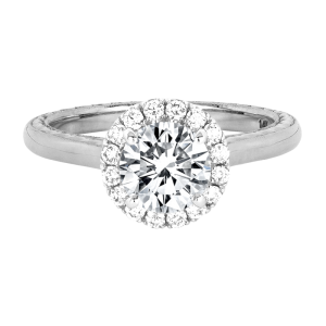 Jack Kelége diamond halo engagement ring - KGR1189