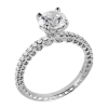Jack Kelége diamond pave engagement ring - KGR1189