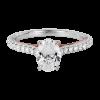 Jack Kelége oval diamond engagement ring KGR1146