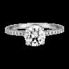 Jack Kelége diamond solitaire engagement ring - KGR1035