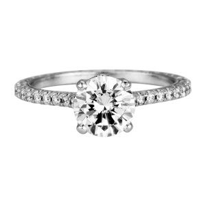 Jack Kelége diamond solitaire engagement ring - KGR1035