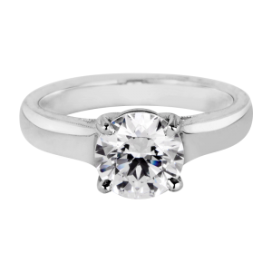 Jack Kelége diamond solitaire engagement ring KGR1192