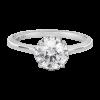 Jack Kelége diamond solitaire hidden halo engagement ring KGR1160