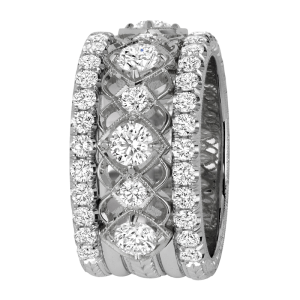 Jack Kelége diamond wedding band ring - KGBD182
