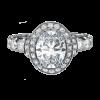 Jack Kelége oval diamond engagement ring - KGR1013