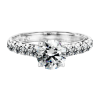 Jack Kelége diamond solitaire engagement ring KGR1018