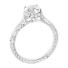 Jack Kelége white gold diamond engagement ring