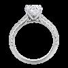 Jack Kelége customizable stone diamond engagement ring - KGR1018