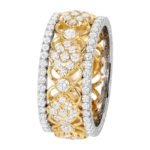 18k Yellow Gold Eternity band - KGBD191-Y