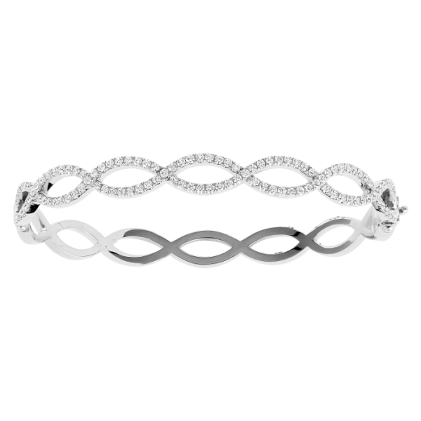 Jack Kelége diamond twist bracelet - KGB111