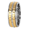 Jack Kelége Men's gold engagement ring - KGBD180