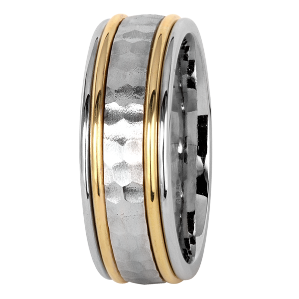 Jack Kelége 18k gold men's wedding ring