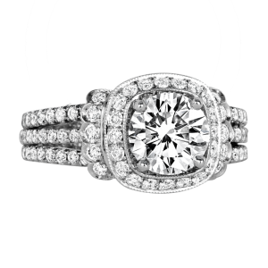 Jack Kelége diamond engagement ring - KGR1057