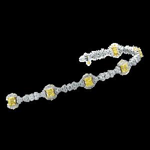 Jack-Kelege-Yellow-Diamond-Platinum-Bracelet-KPB130