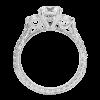 Jack Kelége diamond 3-stone engagement ring KGR1041