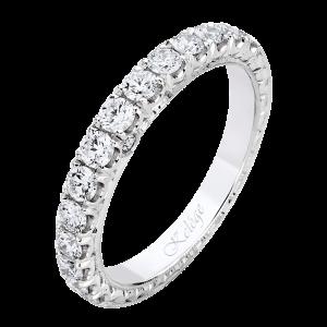 Jack Kelége diamond wedding band set in platinum - KPBD809
