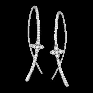 Jack Kelége diamond drop earrings - KGE209