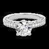 Jack Kelége platinum engagement ring - KPR770