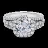 Jack Kelége diamond engagement ring set in platinum - KPR802