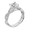 Jack Kelége twisted shank diamond engagement ring KGR1078
