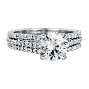 Jack Kelége diamond engagement ring - KGR1080