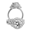 Jack Kelége diamond engagement ring - KGR1091