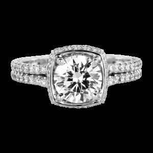 Jack Kelége diamond engagement ring - KGR1107
