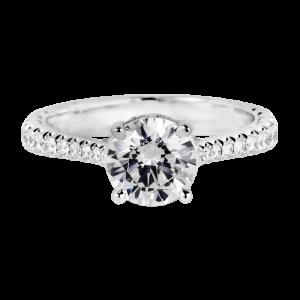 Jack Kelége diamond solitaire engagement ring KGR1198