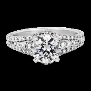 Jack Kelége platinum & diamond engagement ring KPR760