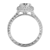 Jack Kelége diamond halo engagement ring - KGR1038