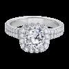 Jack Kelége diamond halo engagement ring - KGR1100