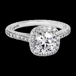 Jack Kelége diamond halo engagement ring KGR1145