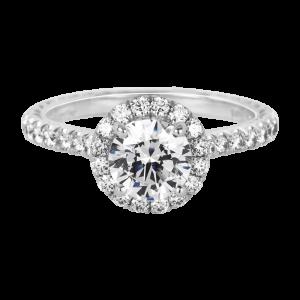 Jack Kelége diamond halo engagement ring KGR1166
