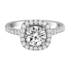 Jack Kelége diamond halo engagement ring KGR1122