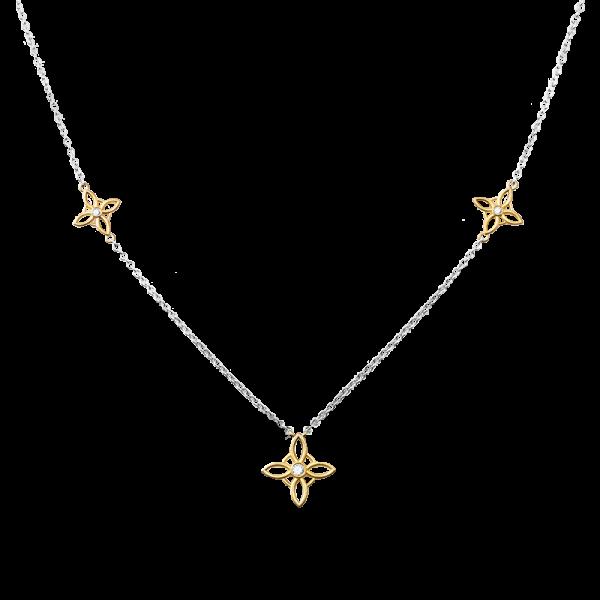 Jack Kelége diamond gold necklace KGN164