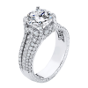 Jack Kelége diamond pavé engagement ring - KGR1230