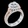 Jack Kelége Diamond Halo Engagement Ring KGR1085