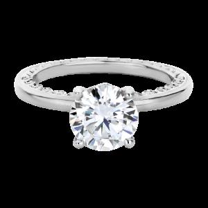 Jack Kelége diamond solitaire engagement ring - KGR1222