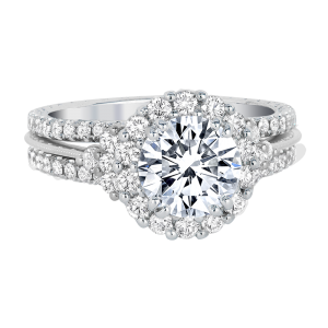 Jack Kelége Diamond Halo Engagement Ring KGR1085