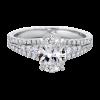 Jack Kelége oval cut diamond engagement ring - KGR1167OV