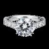Jack Kelége platinum diamond engagement ring - KPR479