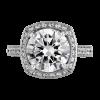 Jack Kelége Platinum Diamond Engagement Ring KPR375